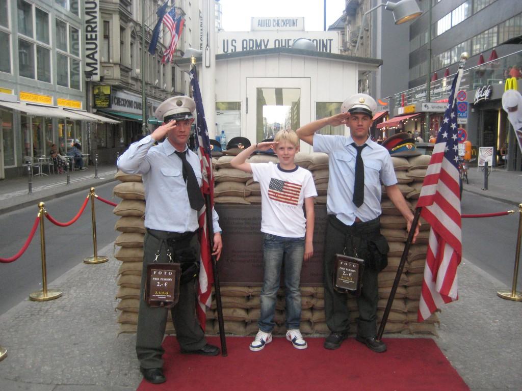 Checkpoint Charlie berlijn