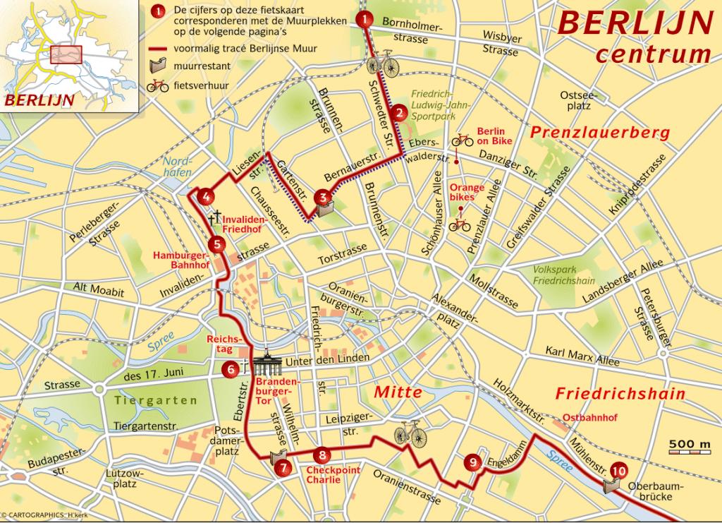 Fietsen in Berlijn zonder gids