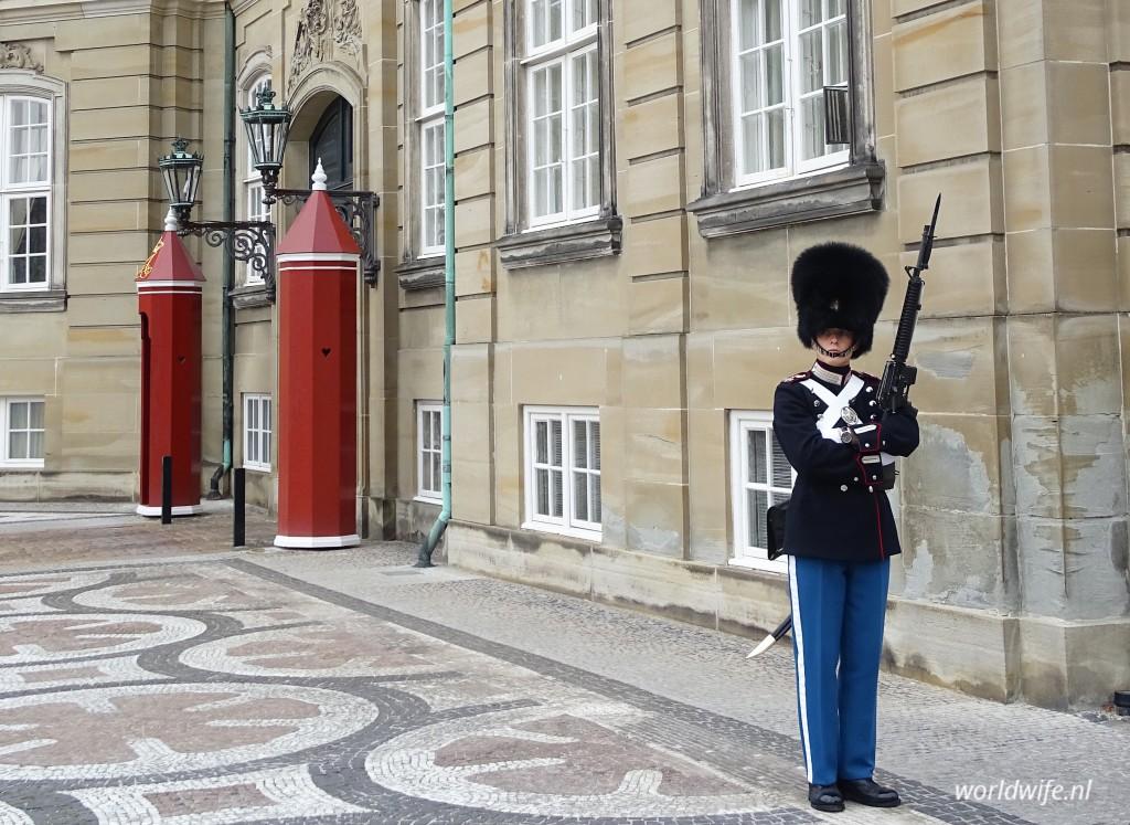 wisseling van de wacht Kopenhagen