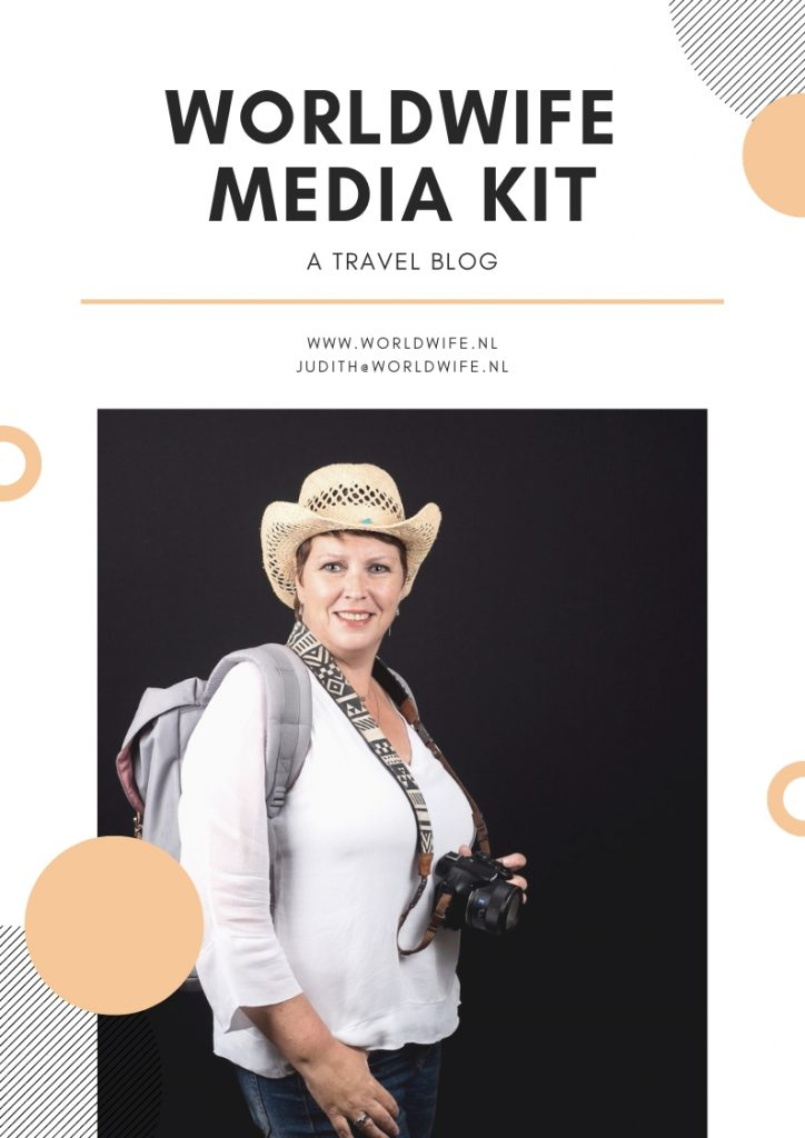 Worldwife media kit travel blog