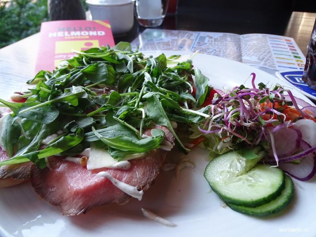 Lunch bij Hotel Brasserie St. Lambert