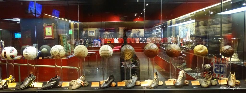 Het museum van Atlético Madrid