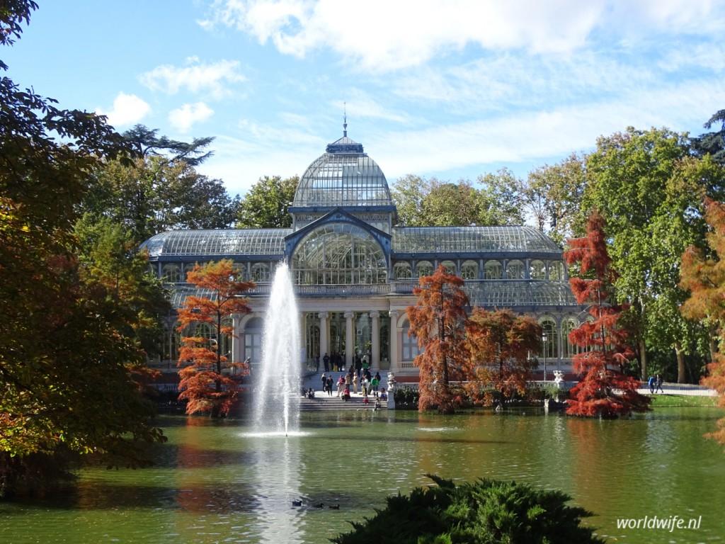 Palacio de Cristal, retiro park madrid