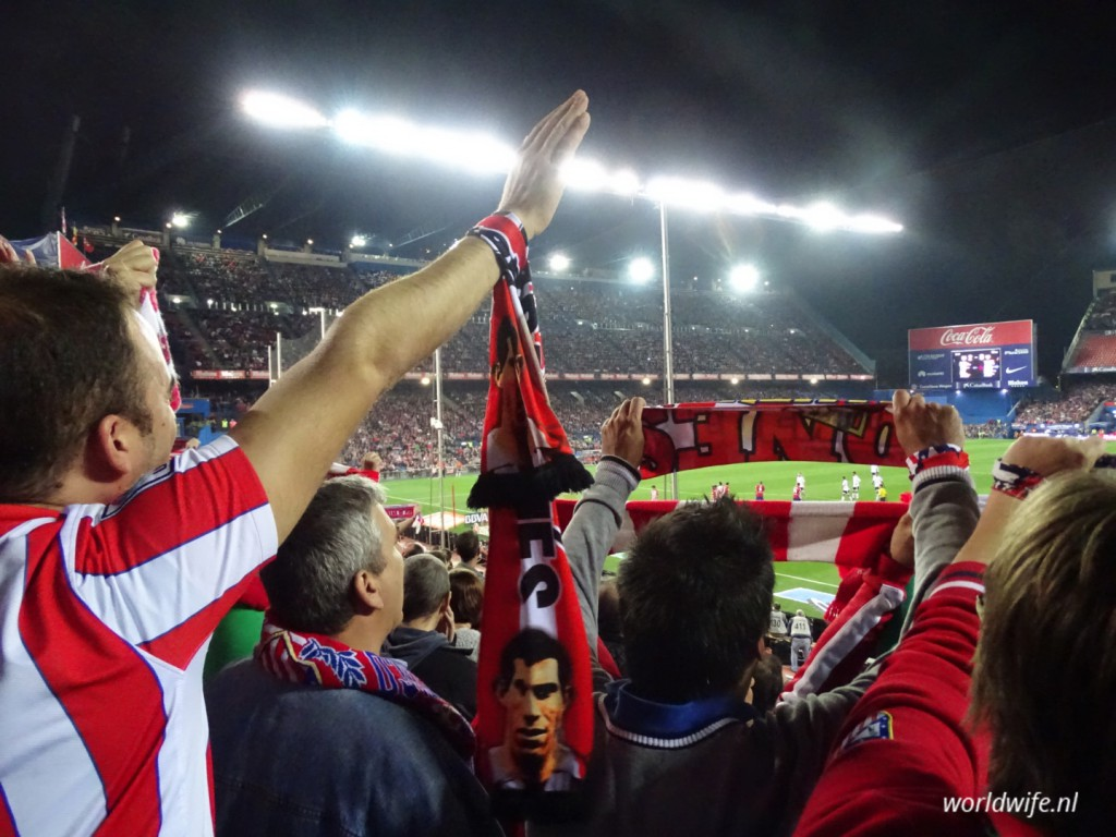 voetbal in madrid