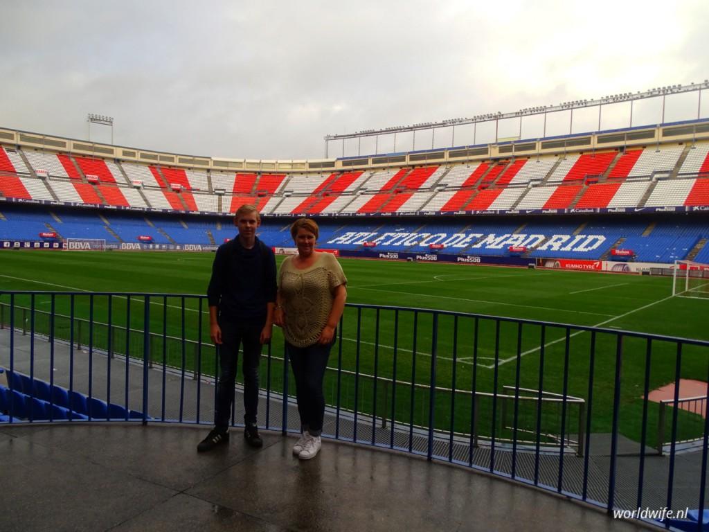 Stadiontour Estadio Vicente Calderón, de thuisbasis van Atlético Madrid