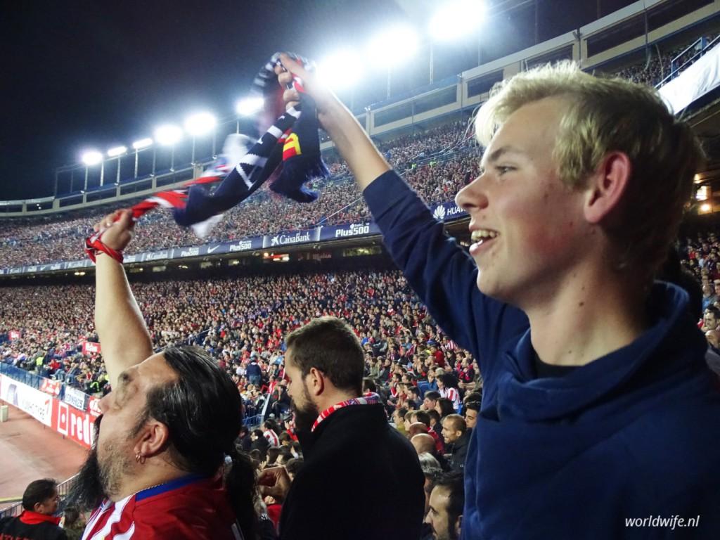 Enthousiaste fans