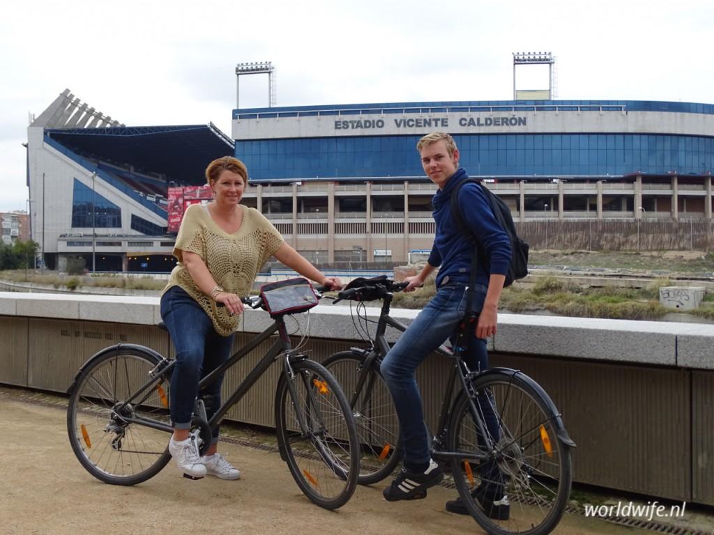 fietsen in madrid