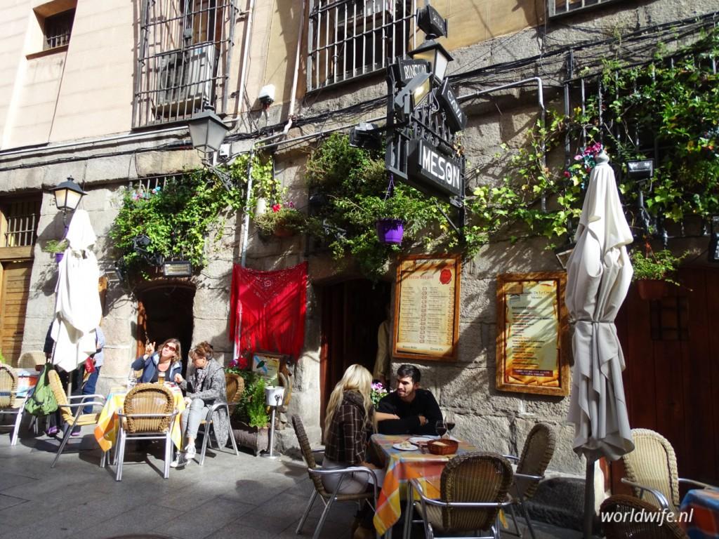Meson Rincon de la Cava, Calle Cava de San Miguel 17