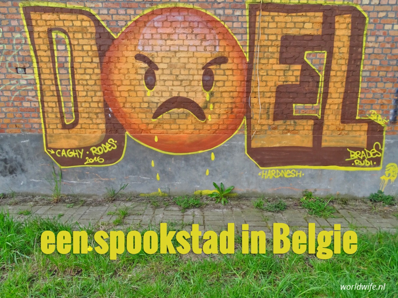 Spookstad Doel Belgie