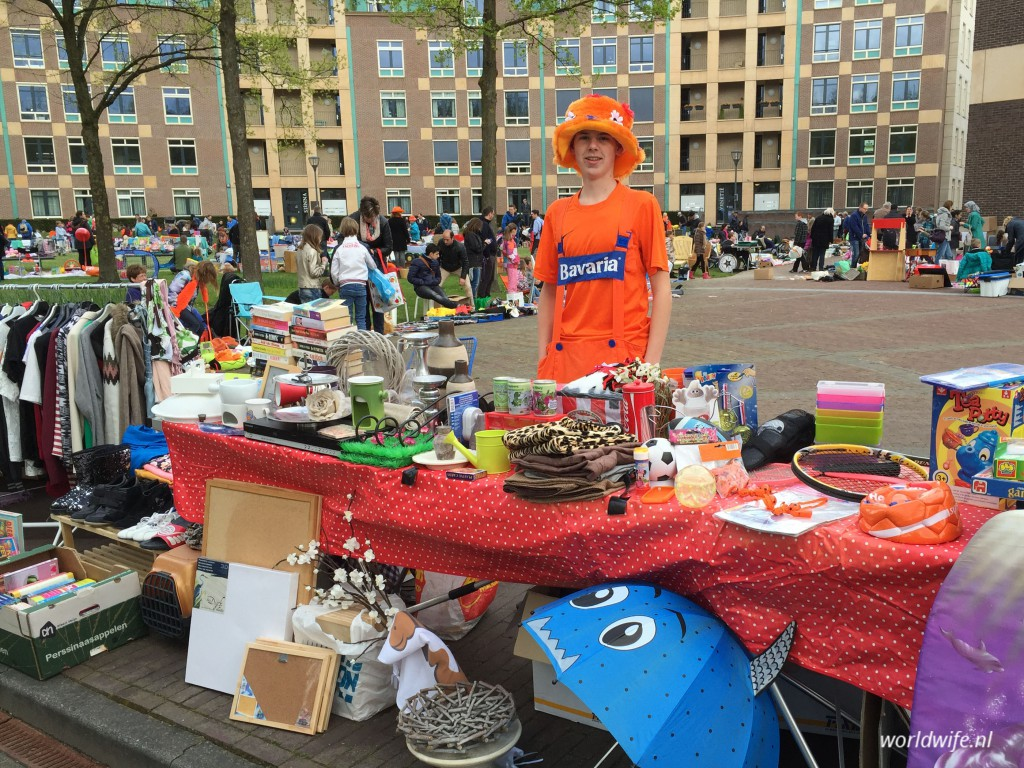Vrijmarkt Koningsdag Helmond slingermarkt