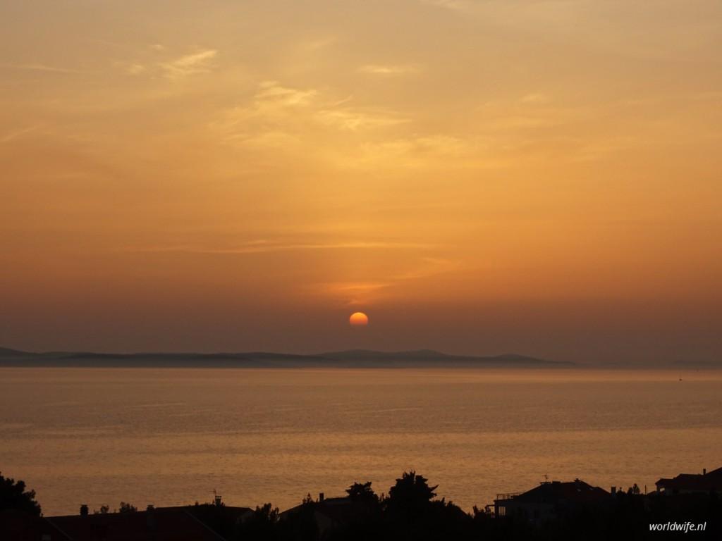 sunset zadar