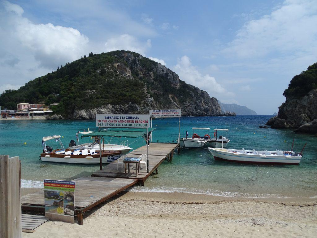 boottocht Corfu