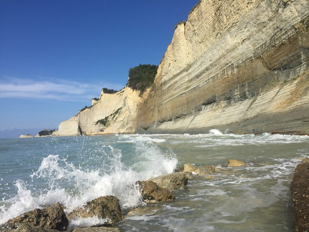 Logas beach Corfu