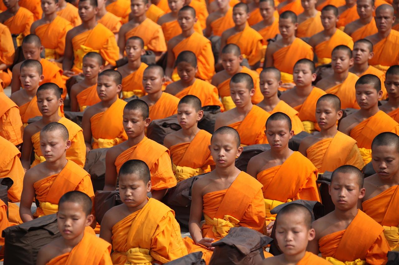 Thaise monniken