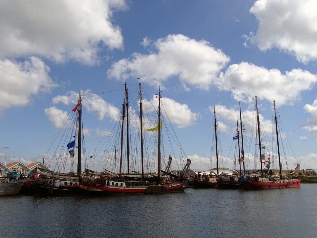 bruine vloot waddenzee