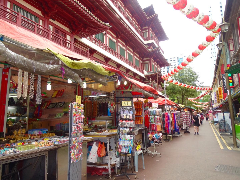 Chinatown Singapore stedentrip