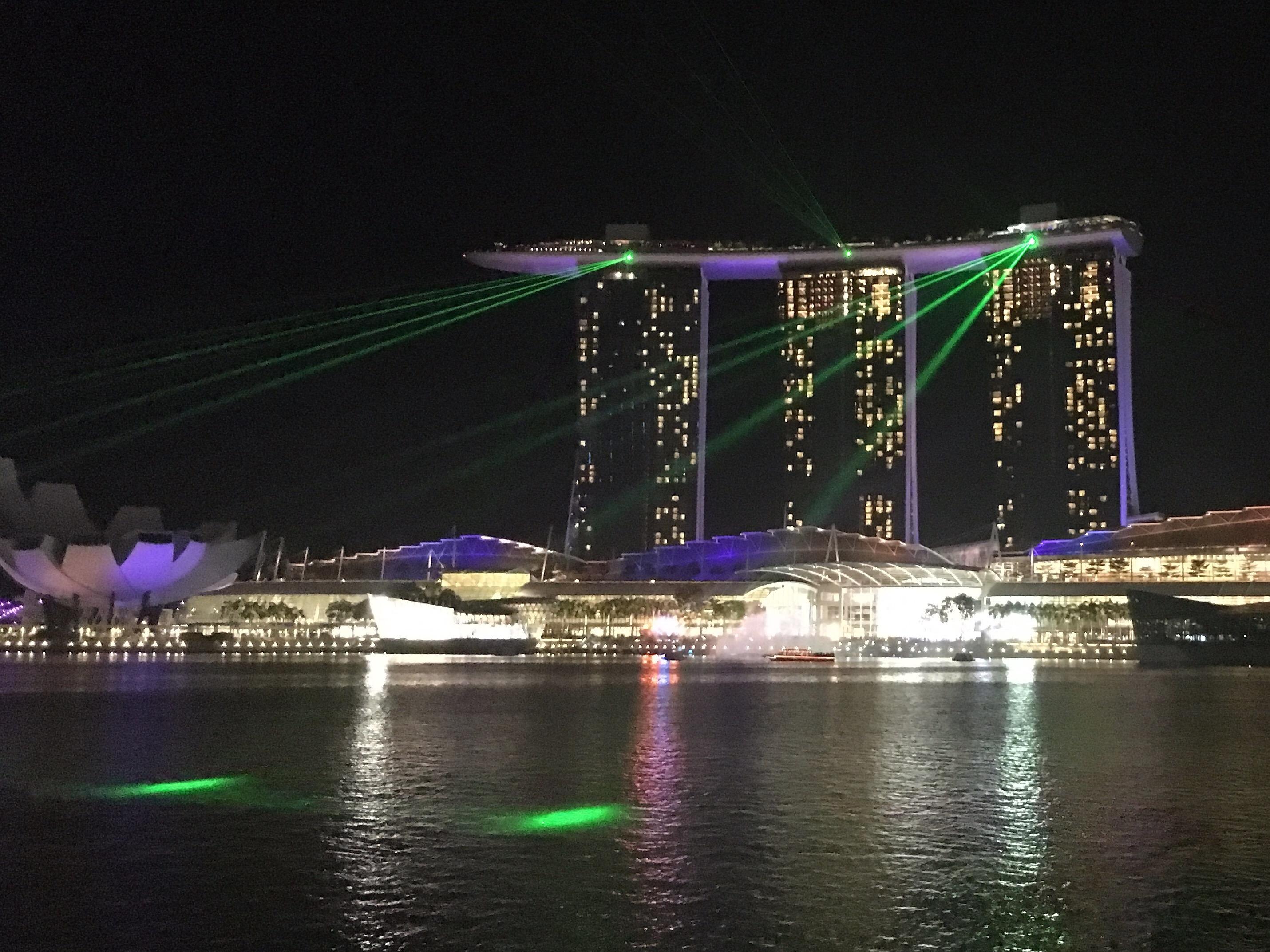 Marina Sands Bay hotel met rooftop zwembad Singapore