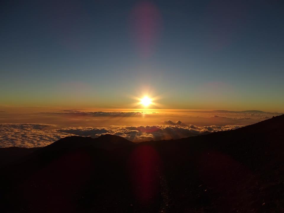 zonsondergang pico del teide