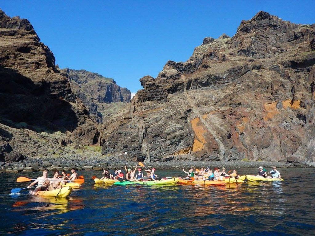 kayakken los gigantes tenerife