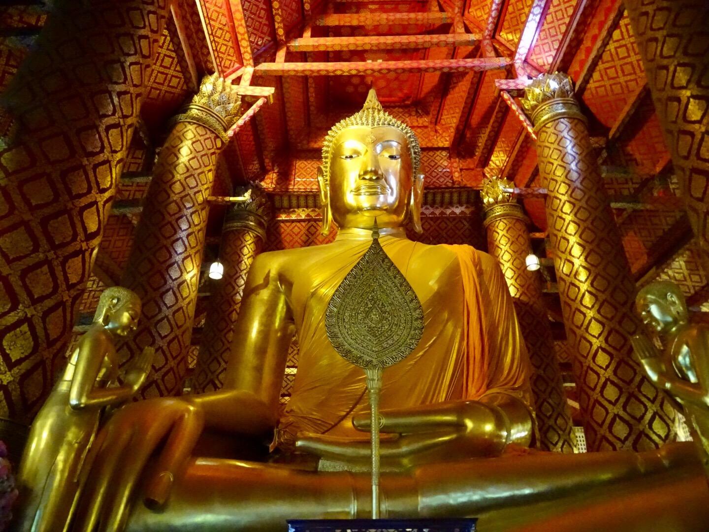 de mooiste tempels van ayutthaya