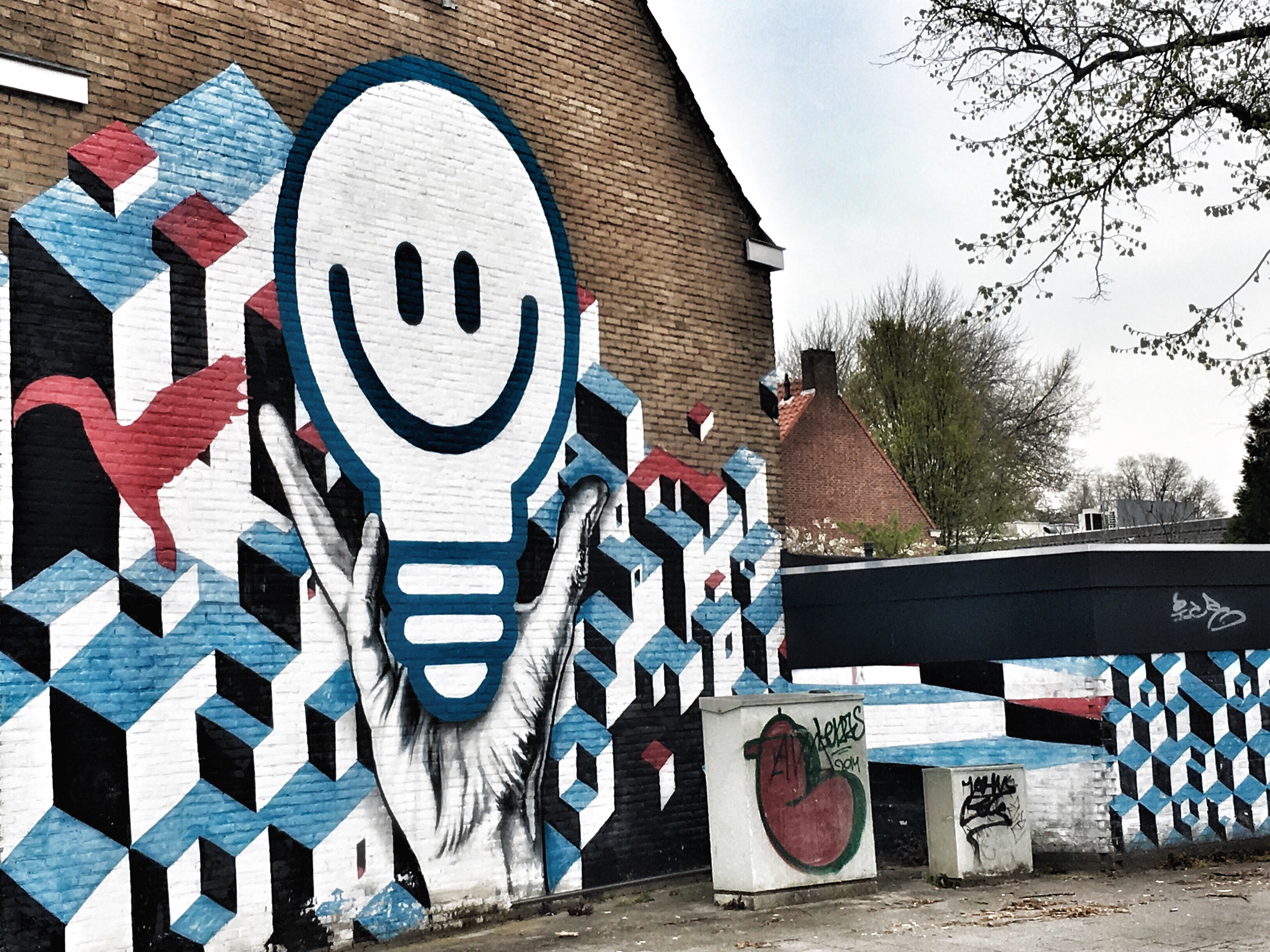street art eindhoven lempke
