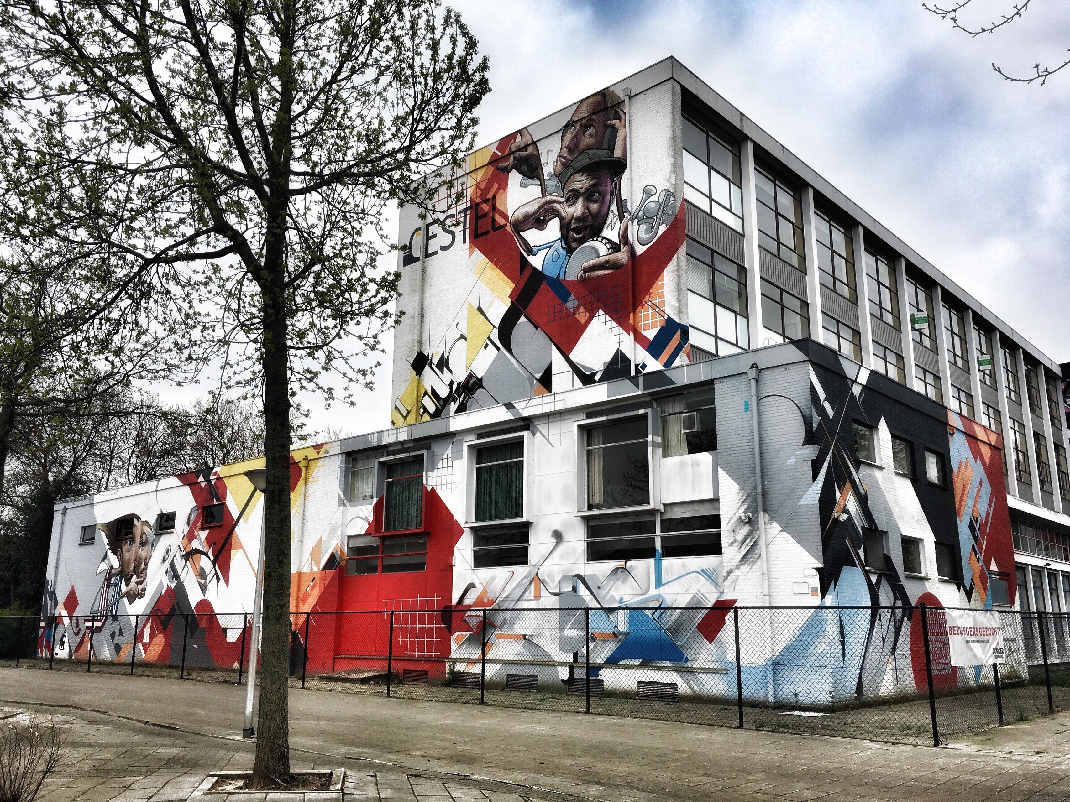 street art eindhoven karel de grotelaan