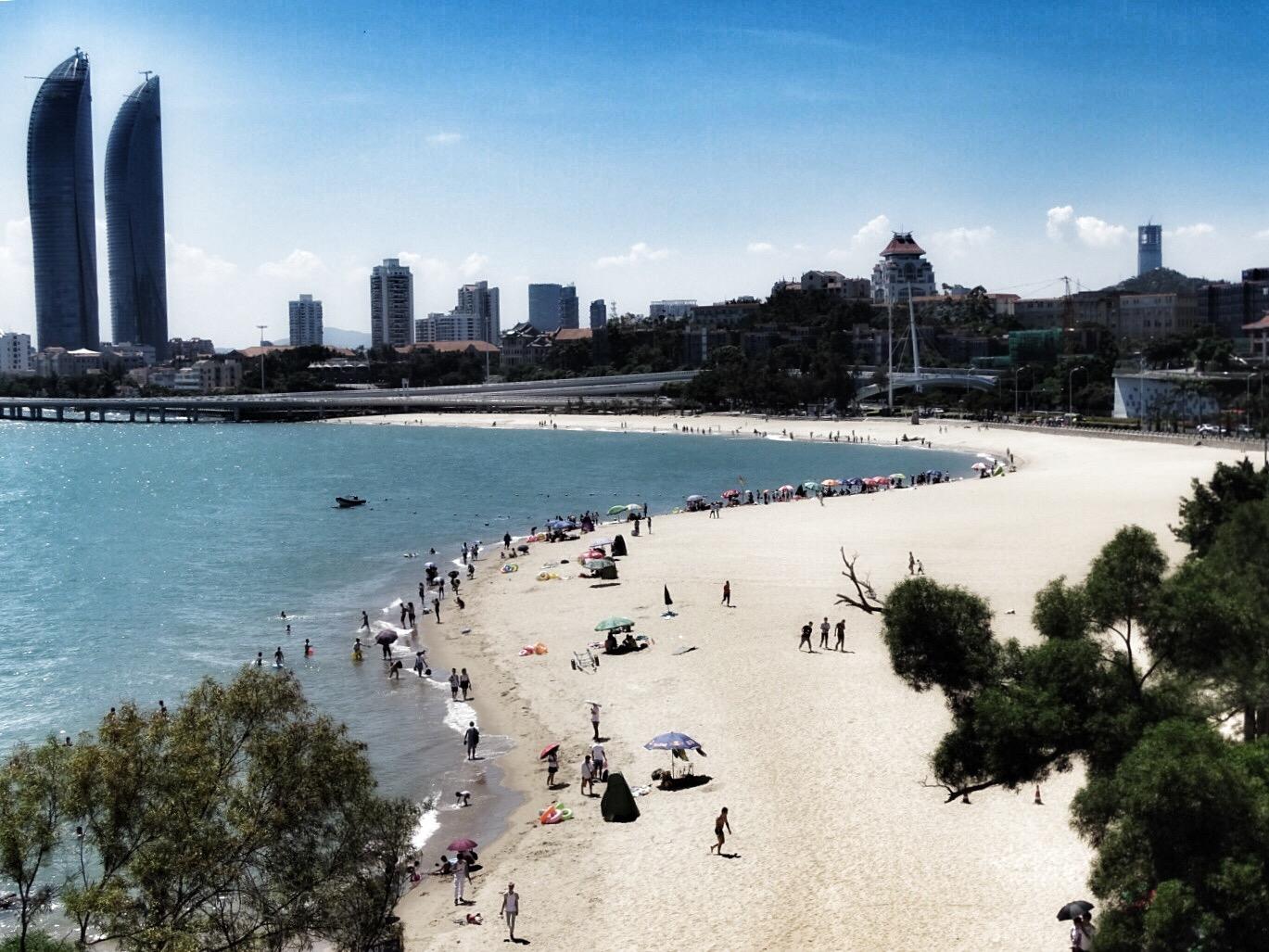 Bai Cheng strand xiamen china