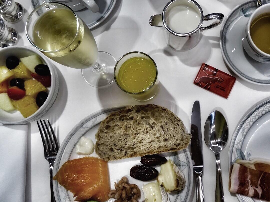 champagne ontbijt hotel prinsenhof brugge