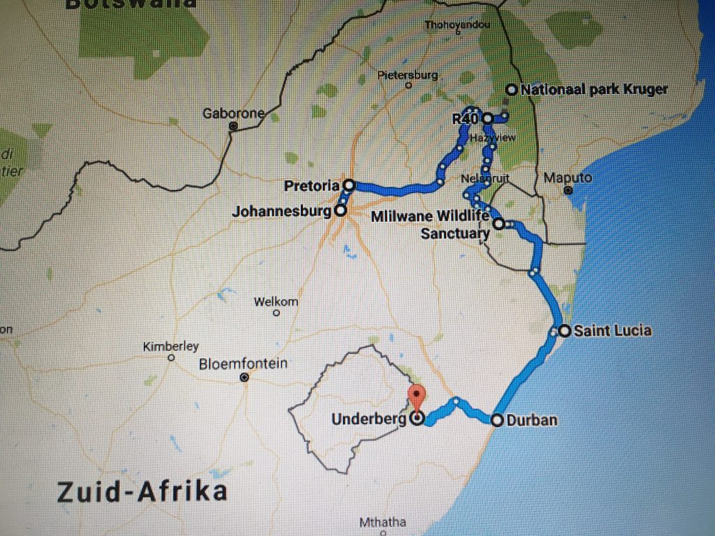 Roadtrip Zuid-Afrika panoramaroute