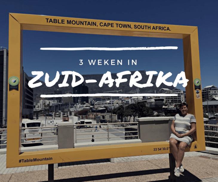 route zuid-afrika