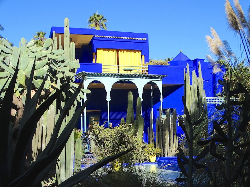 le jardin majorelle marrakech