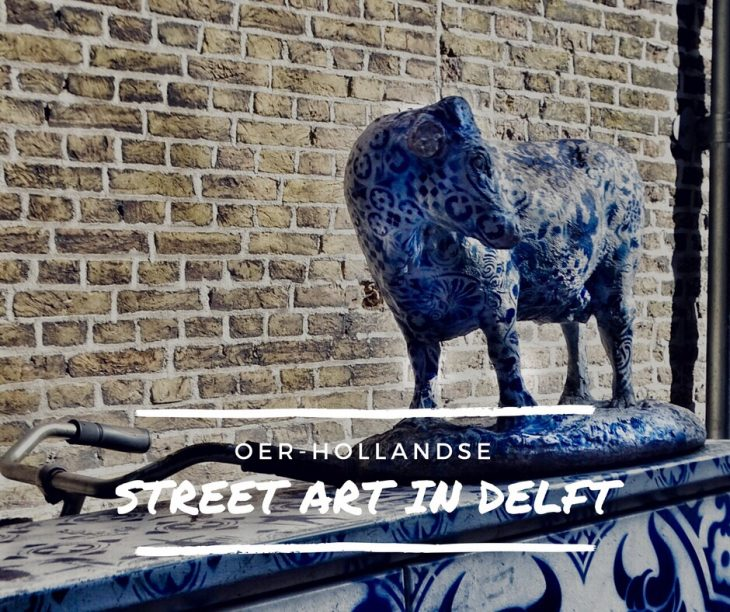 street art in Delft