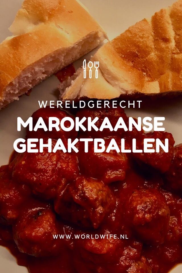 recept marokkaanse gehaktballen
