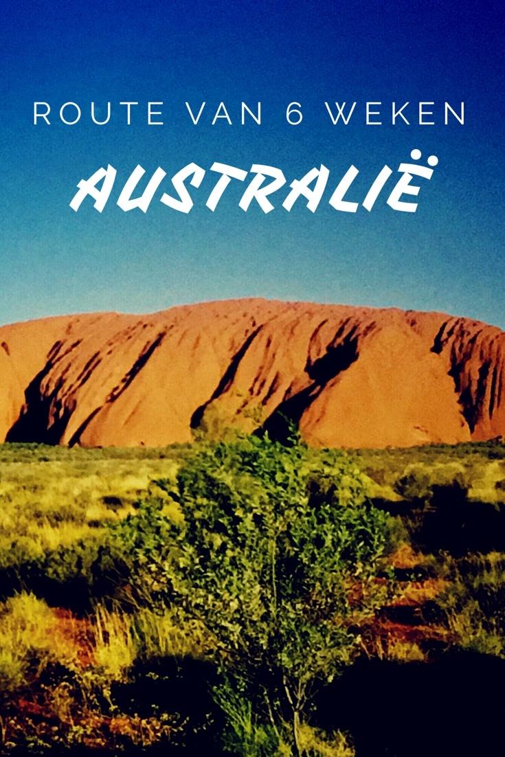 route australië