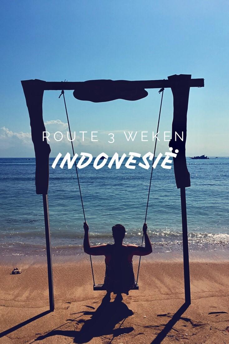 Route rondreis van 3 weken door Indonesië - Worldwife.nl