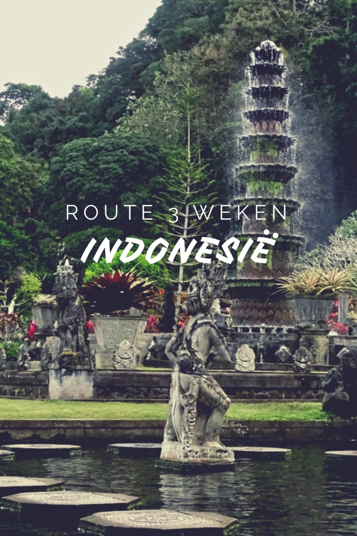 Route rondreis van 3 weken door Indonesië - Worldwife.nl