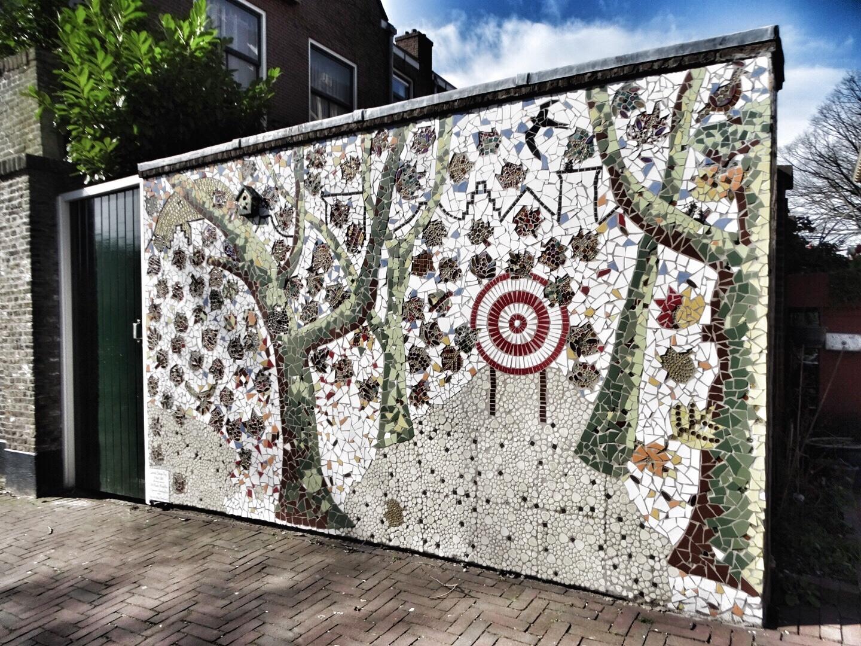 street art in Delft