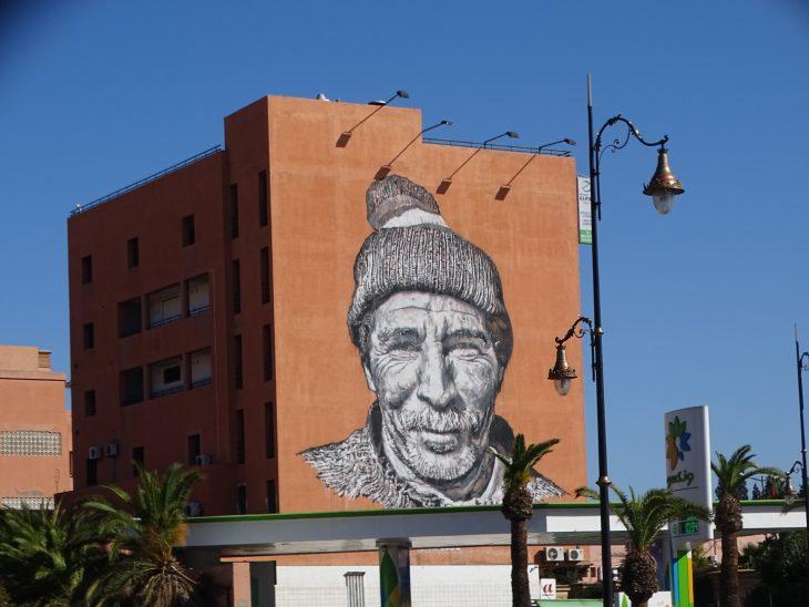 Street art in Marrakech - Worldwife.nl