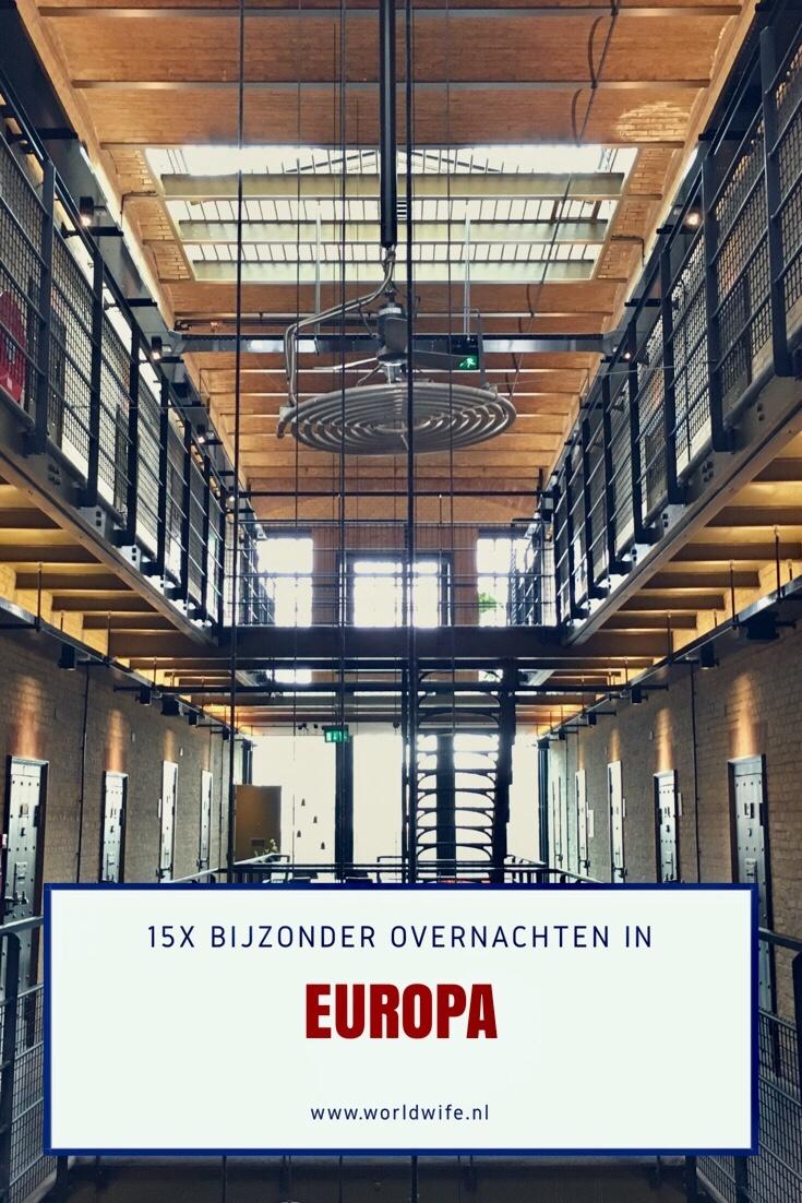 15x bijzonder overnachten in Europa - www.worldwife.nl
