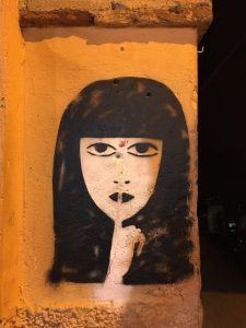 street art marrakech medina