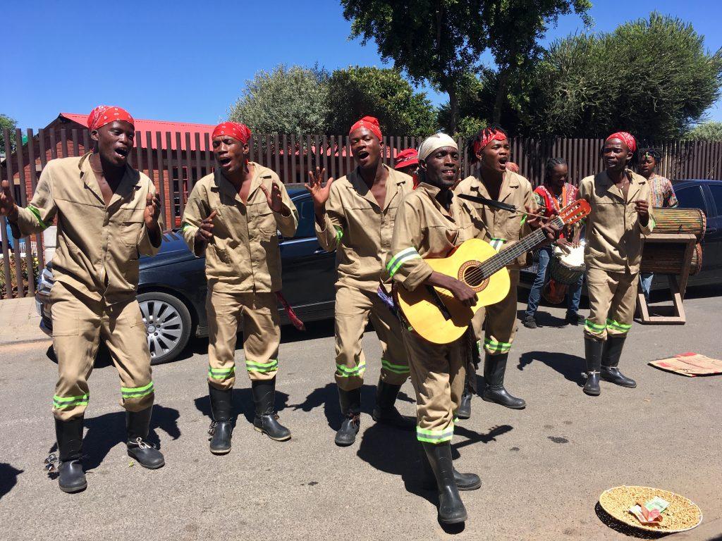 Fietstocht soweto