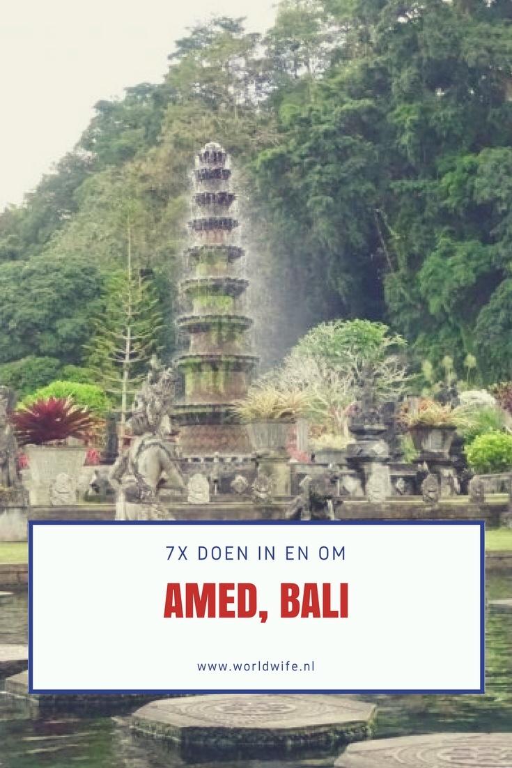 7x doen in Amed, Bali | www.worldwife.nl