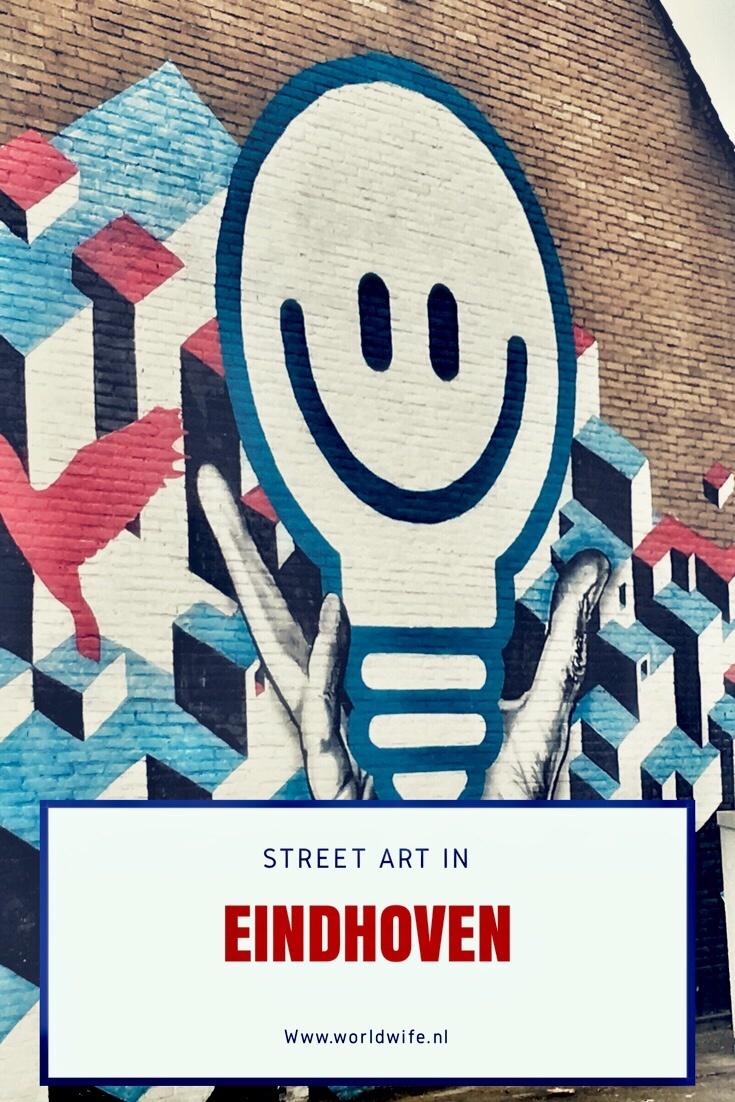 Street art in Eindhoven - www.worldwife.nl