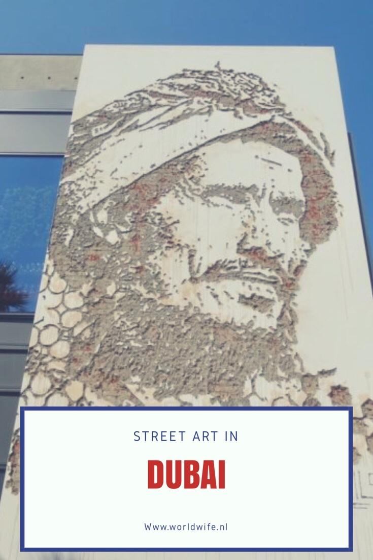 Street art in Dubai - www.worldwife.nl