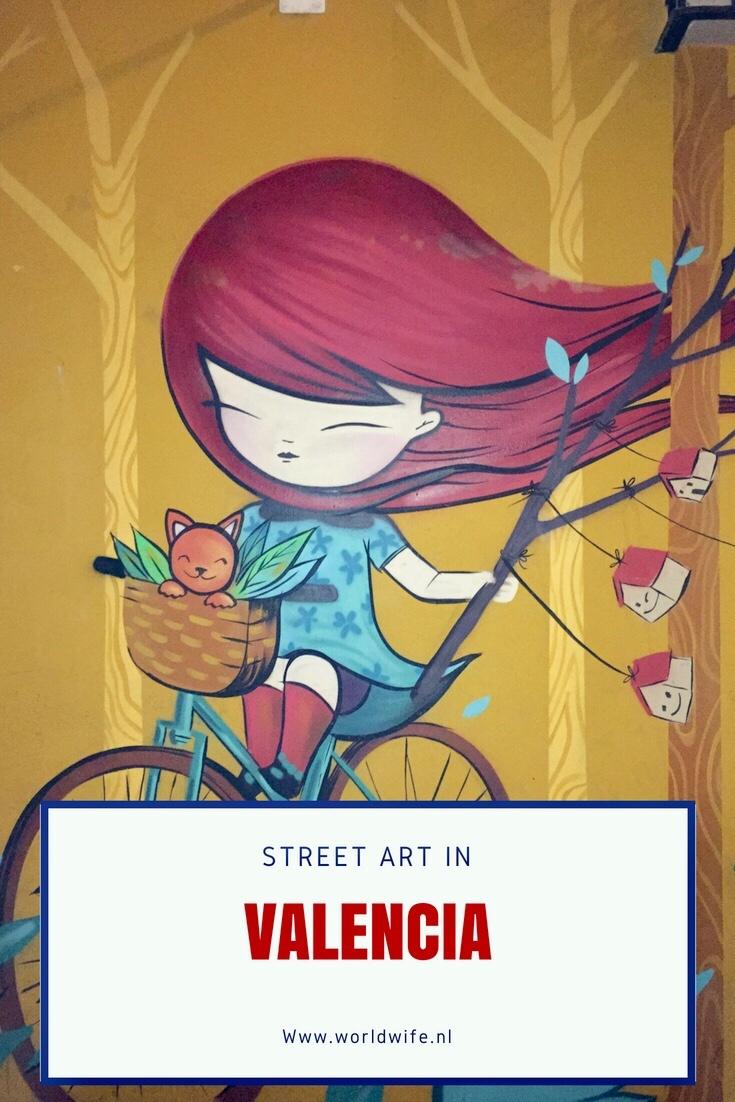Street art in Valencia - www.worldwife.nl