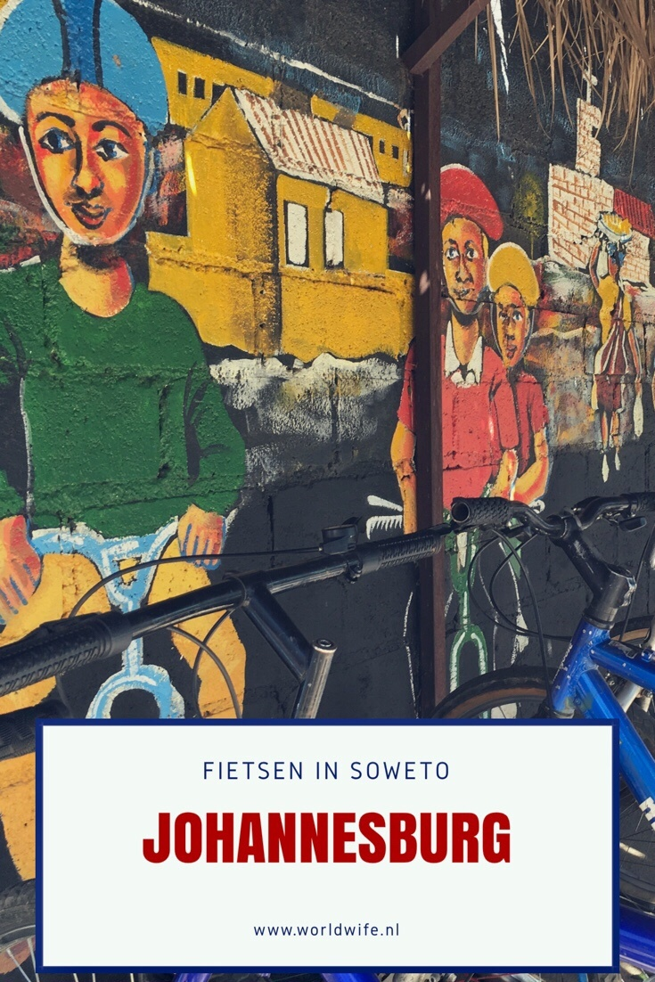 Fietstour door Soweto, Johannesburg, Zuid-Afrika - www.worldwife.nl