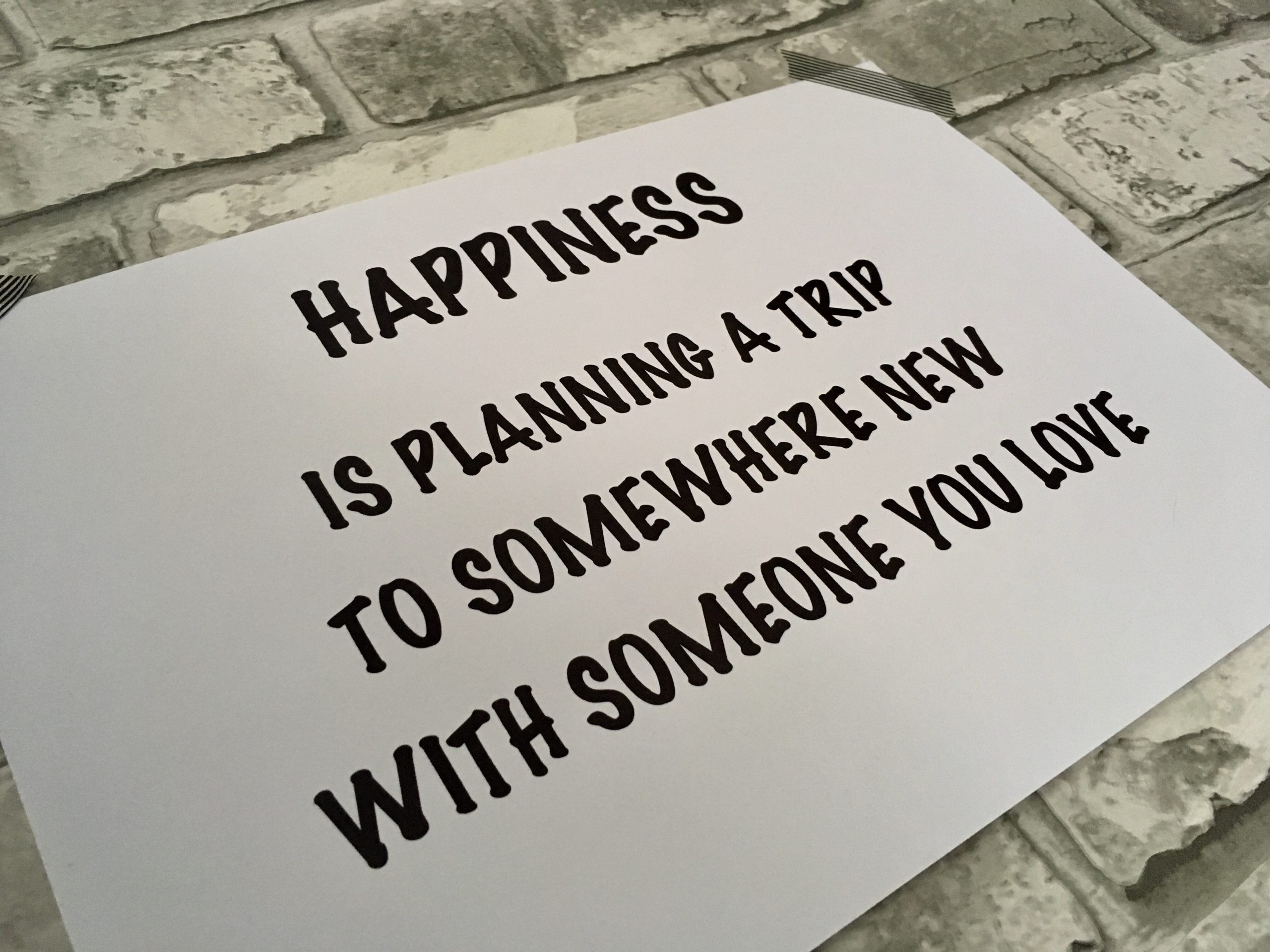 quote happiness travel