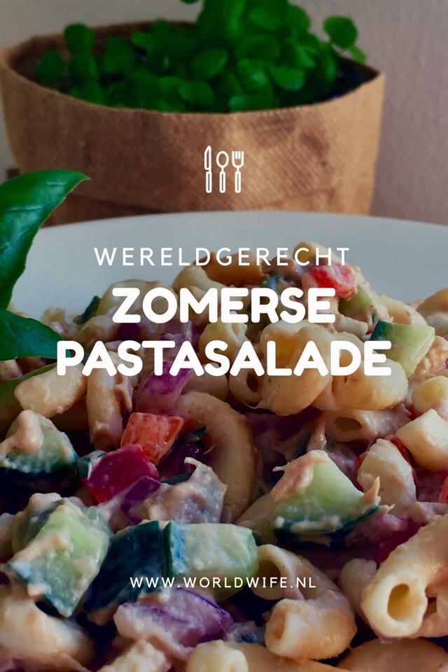 Recept voor zomerse pastasalade - www.worldwife.nl