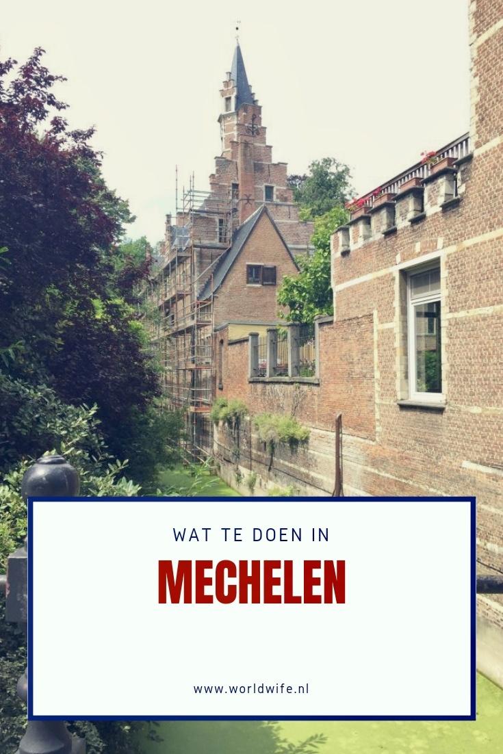 Tios voor een bezoek aan het Belgische Mechelen