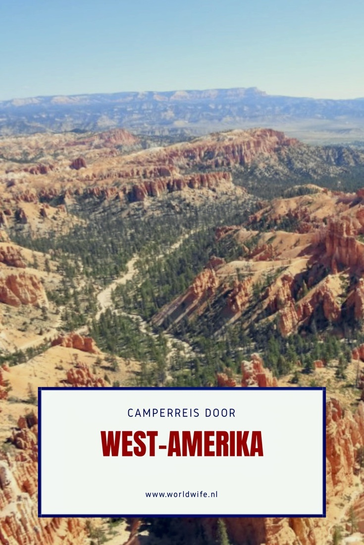 Ontdek de westkust van Amerika met een camper.